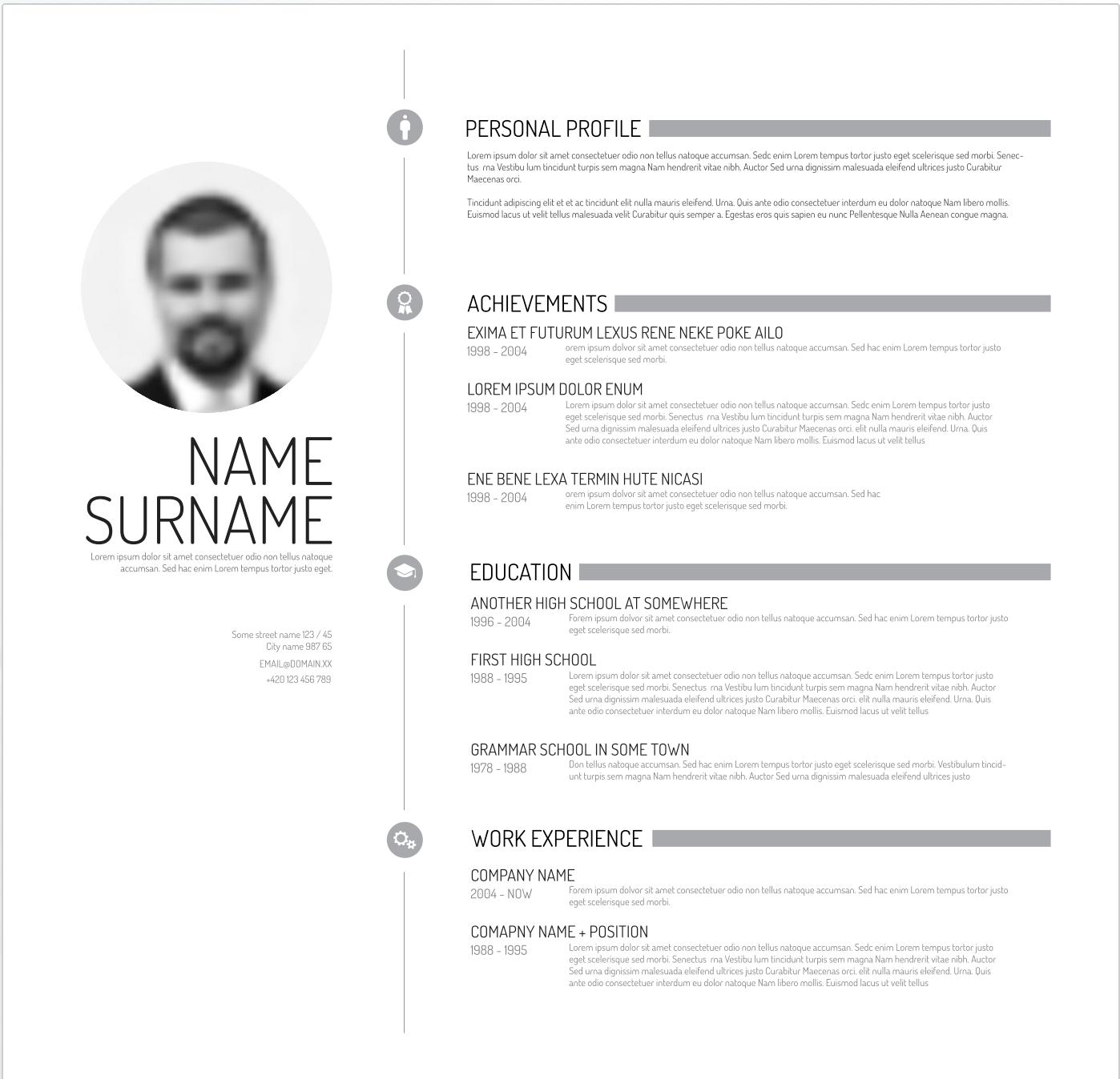 Online Resume