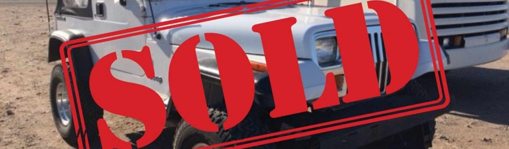 Sold Jeep