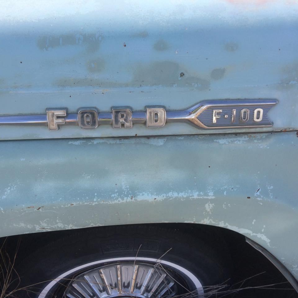 1958 F-100 Fleet Side