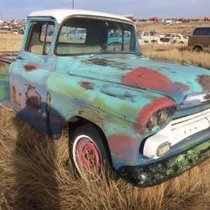 1959 Chev 1/2 Ton Short Box