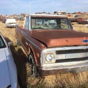 1970 Chev 1/2 Ton Pickup